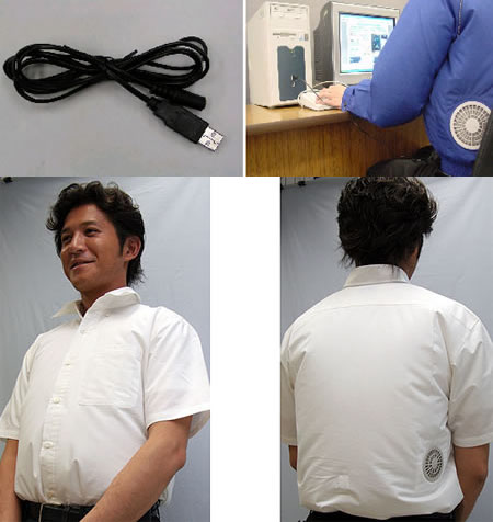 USB Air-Conditioned Shirt