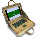 Fujitsu WoodShell — ноутбук из дерева
