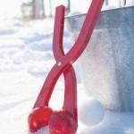 Приспособление для производства снежков