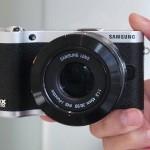 Samsung NX300: быстрая без зеркалка с Wi-Fi