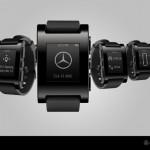 «Умные» часы Mercedes показывают уровень бензина