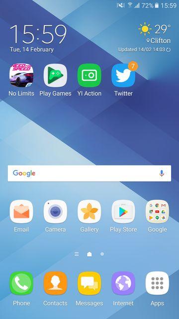 Samsung Galaxy A7 2017 SM A720f обзор: смартфон среднего класса с функциями флагмана