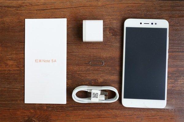 Обзор XiaomiRedmi Note 5A: реальные фото и распаковка