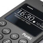Кнопочный телефон Punkt MP02 с 4G и защитой BlackBerry